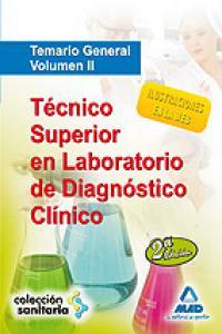 Tecnico superior laboratorio diagnos. temario general vol