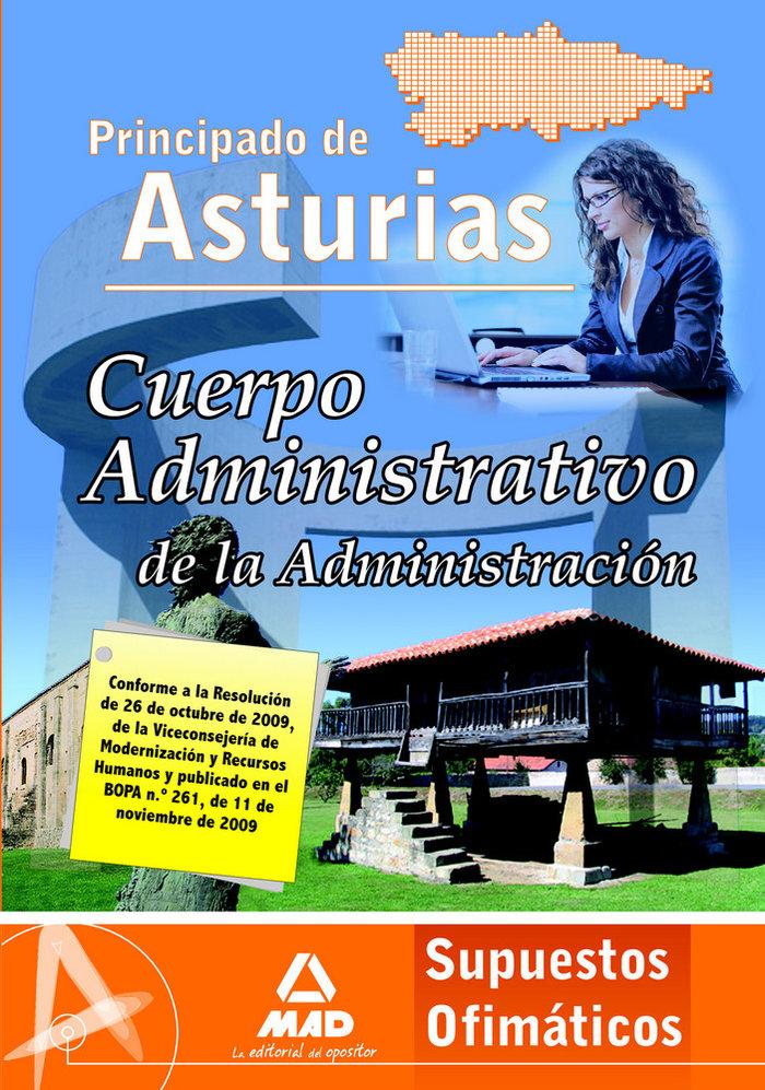 Cuerpo administrativo de la administracion, principado de as
