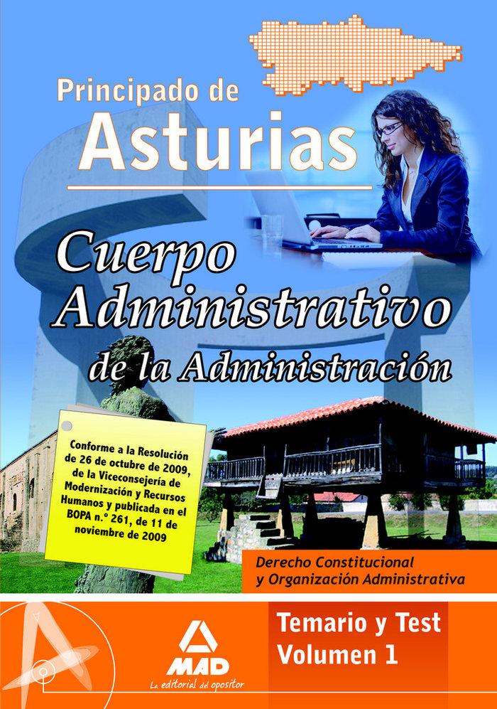Derecho constitucional y organizacion administrativa