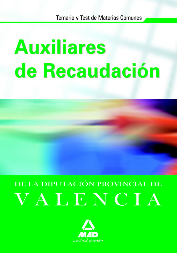 Auxiliares de recaudacion diputacion provincial de valencia