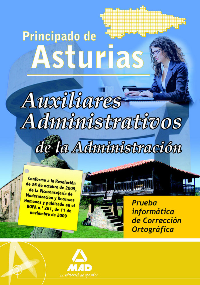 Auxiliares administrativos de la administracion, principado