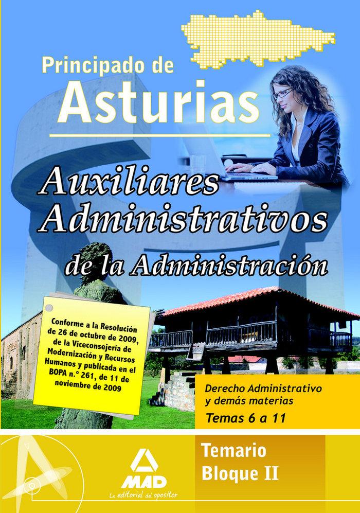 Auxiliares administrativo, administracion del principado de