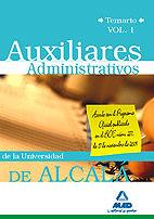 Auxiliares administrativos de la universidad de alcala. tema