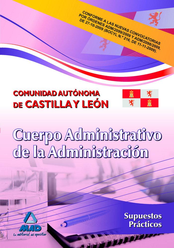 Cuerpo administrativo de la administracion, comunidad autono