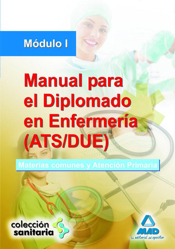 Manual para el diplomado en enfermeria ats/due modulo i