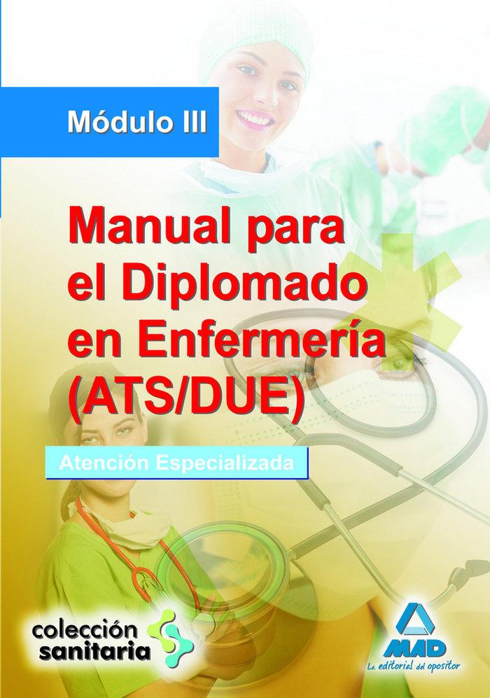 Manual para el diplomado en enfermeria ats/due modulo iii