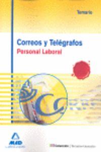 Personal laboral, correos y telegrafos. temario