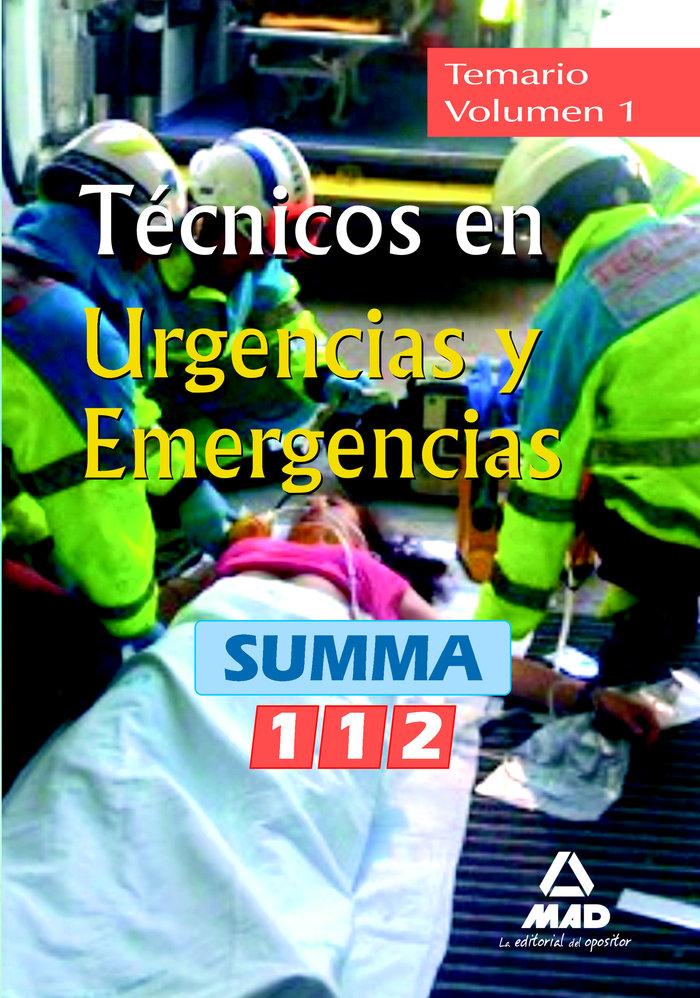Tecnicos en urgencias y emergencias del summa 112, comunidad