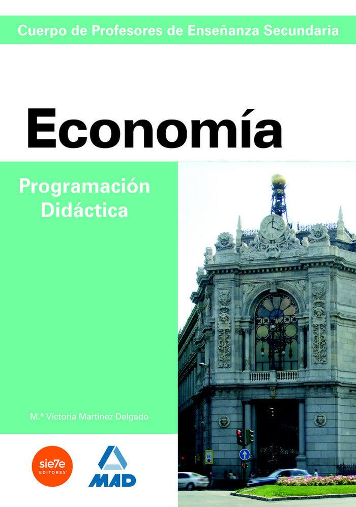Economia programacion didactica cuerpo profesores enseñanza