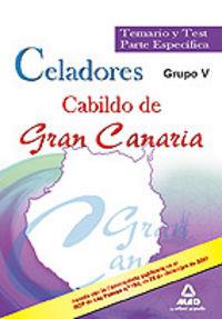 Celadores, grupo v, cabildo de gran canaria. temario y test