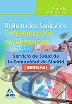 Diplomados sanitarios. enfermeras/os de urgencias del servic