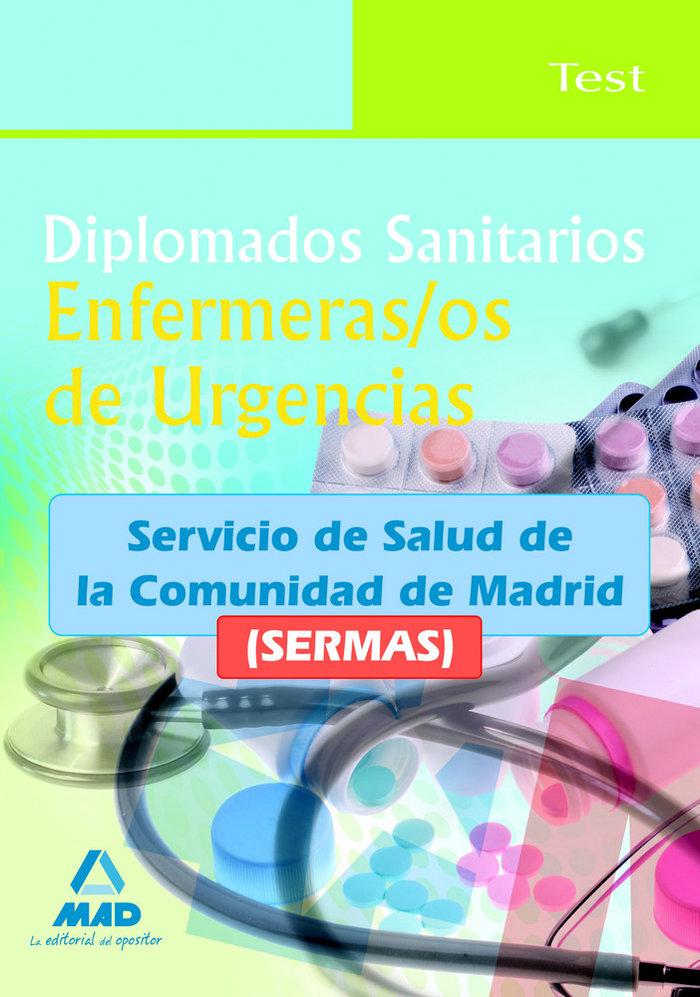 Diplomados sanitarios, enfermeras/os de urgencias, servicio
