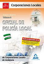 Oficial de la policia local de andalucia. temario general. v
