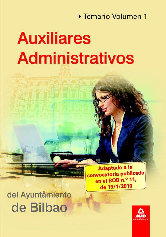 Auxiliares administrativos del ayuntamiento de bilbao. tema