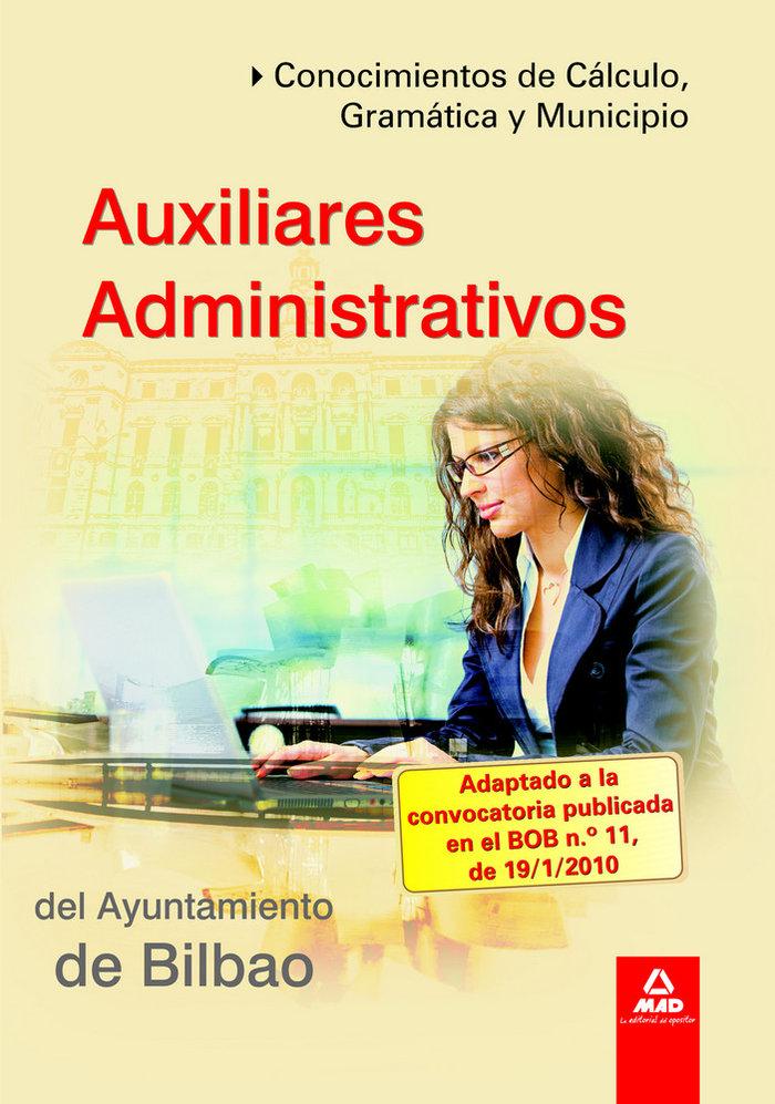 Auxiliares administrativos, ayuntamiento de bilbao. conocimi