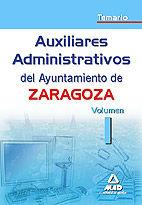 Auxiliares administrativos del ayuntamiento de zaragoza. tem