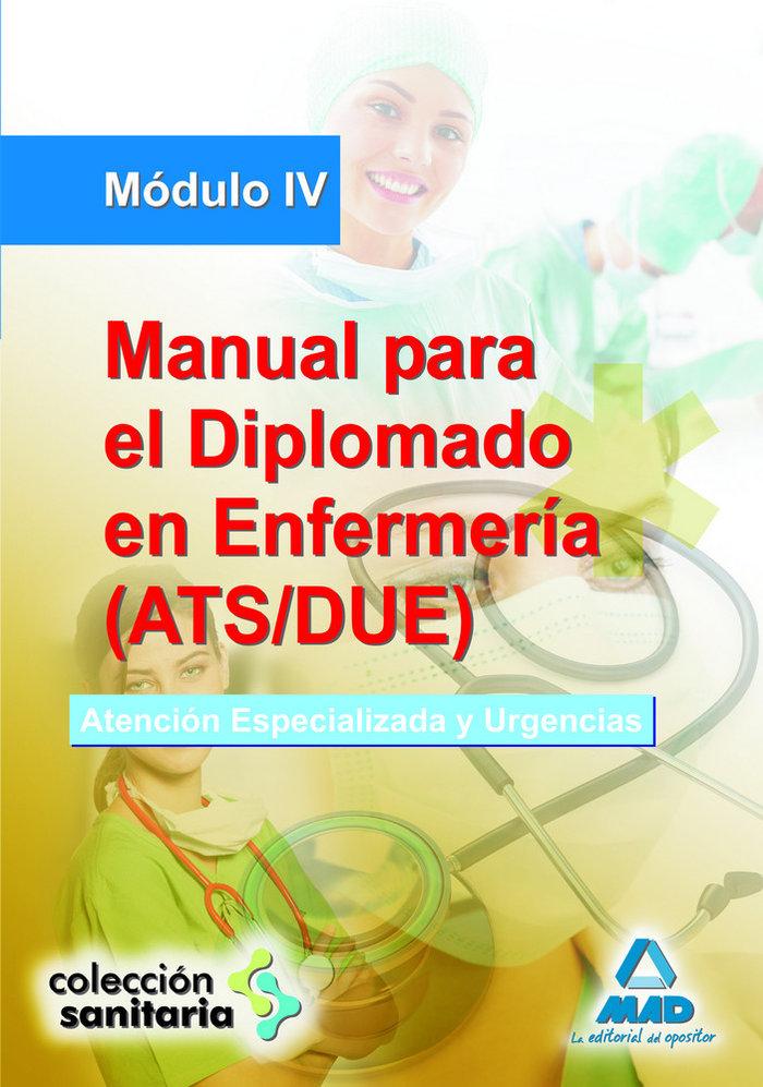 Manual para el diplomado en enfermeria ats/due modulo iv