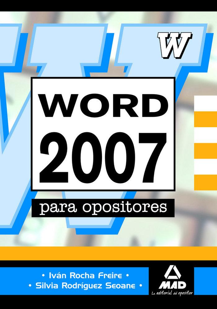 Word 2007 para oposiciones avanzado