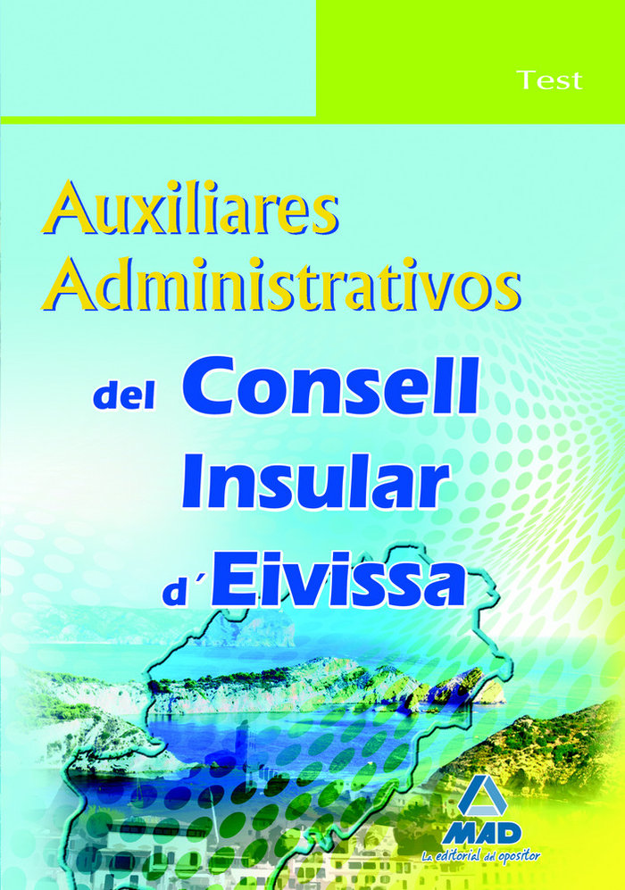 Auxiliares administrativos, consell insular d'eivissa. test