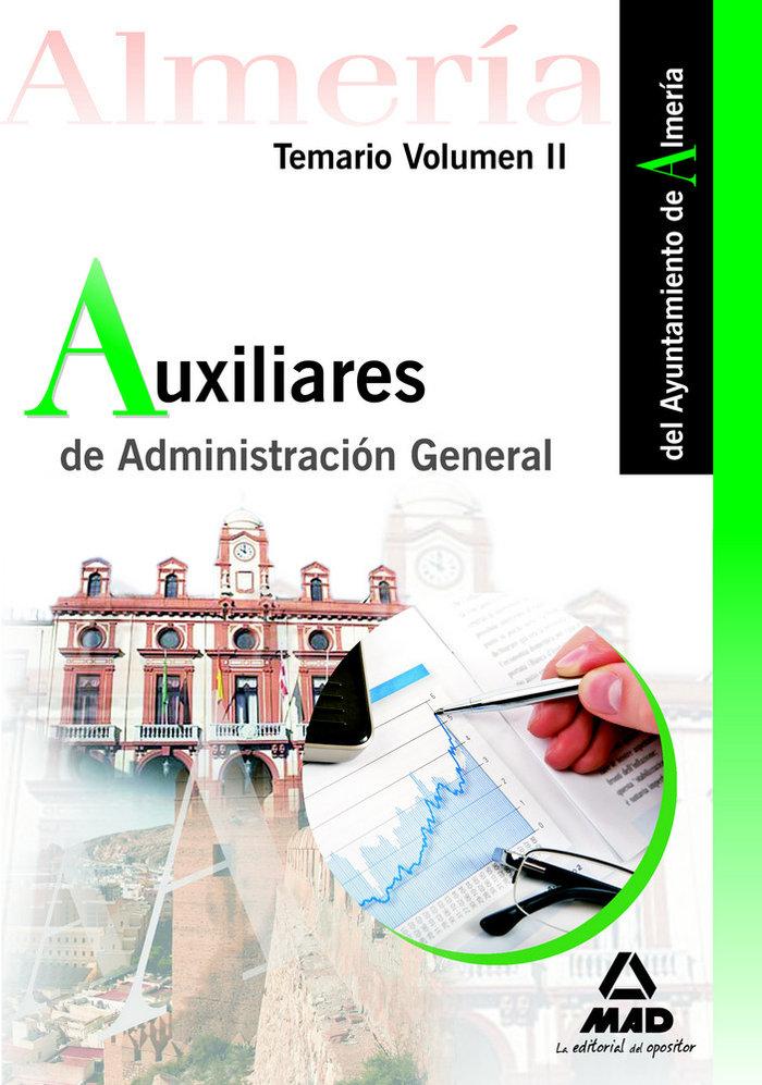 Auxiliares administracion general ayuntamiento almeria ii