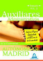 Auxiliares administrativos de la universidad autonoma de mad