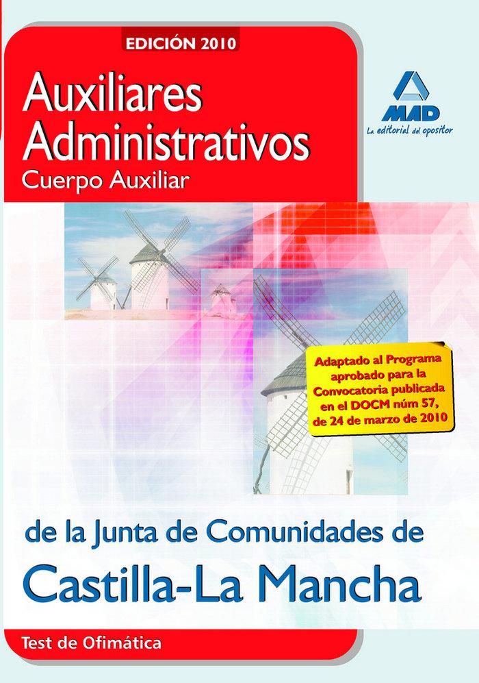 Auxiliares administrativos, cuerpo auxiliar, junta de comuni