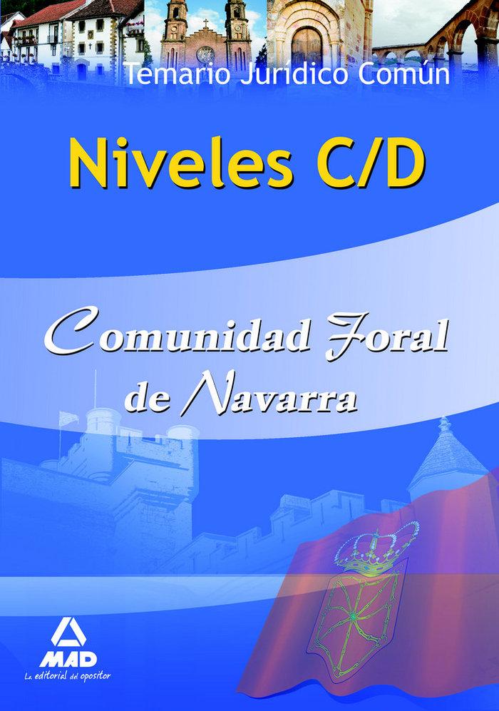 Niveles c-d, comunidad foral de navarra. temario juridico co