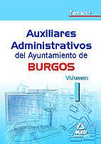 Auxiliares administrativos del ayuntamiento de burgos. temar