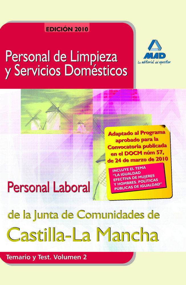 Personal de limpieza y servicios domesticos.personal laboral