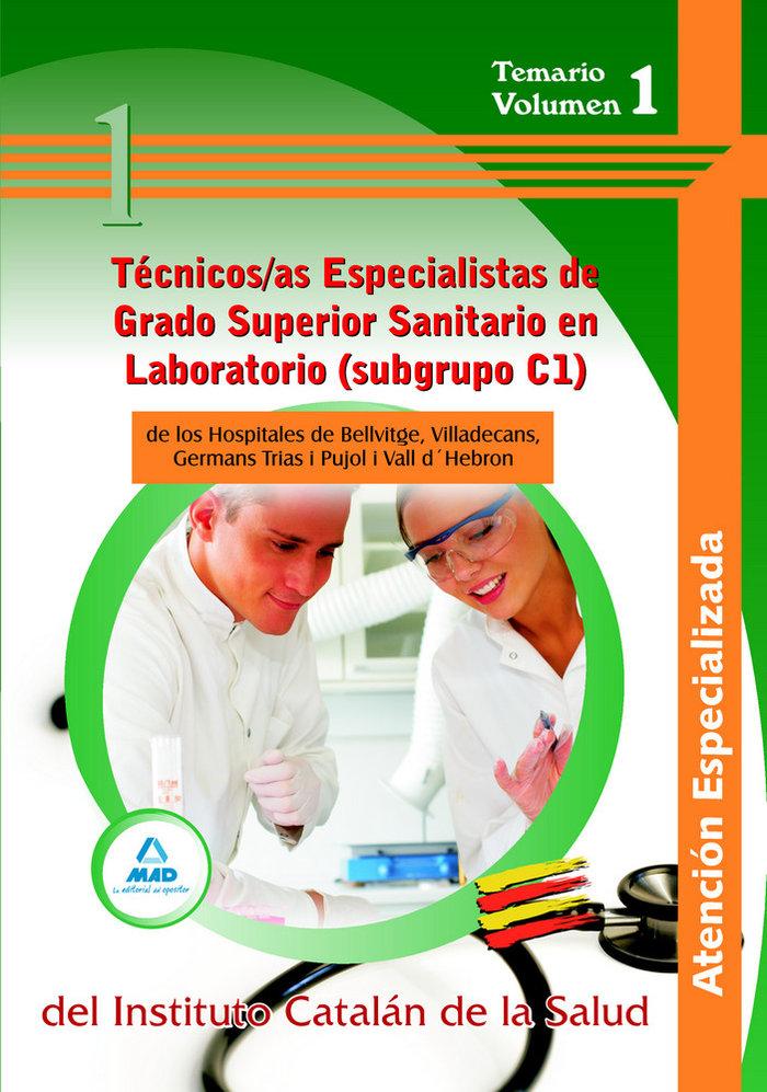 Tecnicos/as especialistas de grado superior sanitario en  la