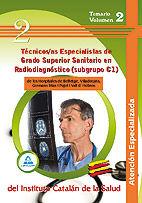 Tecnicos/as especialistas de grado superior sanitario en  ra