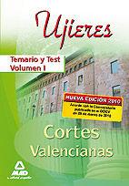 Ujieres de las cortes valencianas. temario y test. volumen i