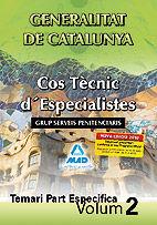 Cos tecnic d¿especialistes de la generalitat de catalunya. g