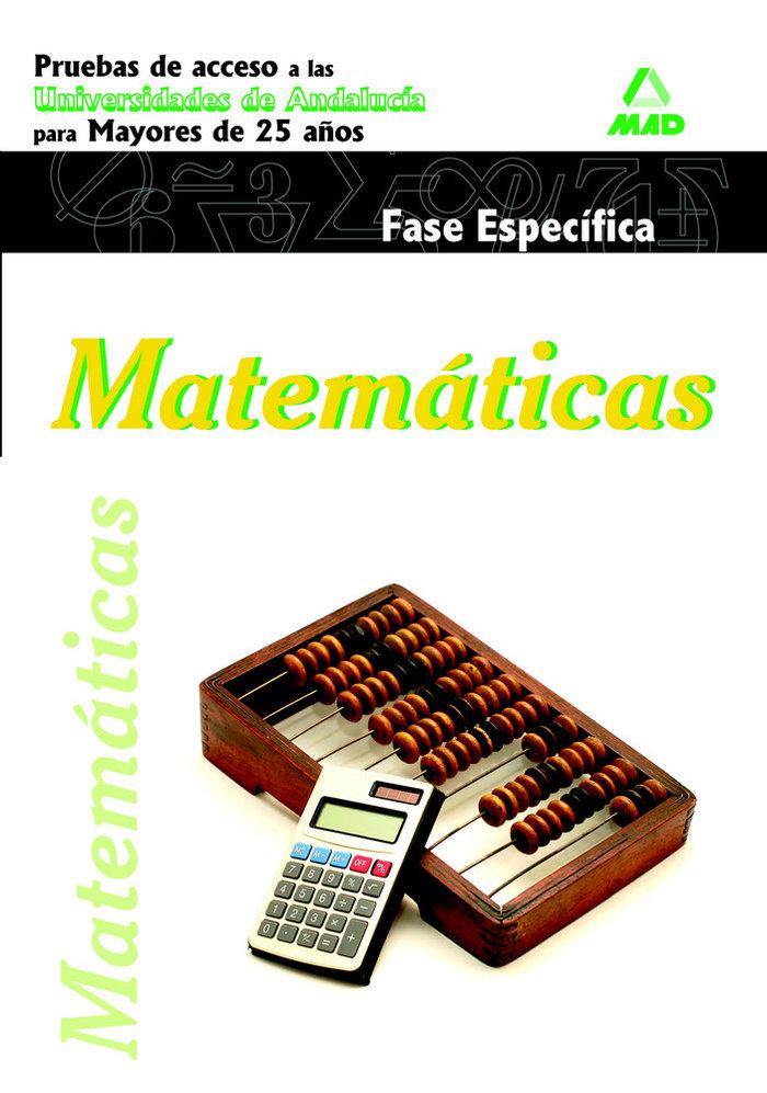 Matematicas pru.especifica acceso univ.and.mayores 25 años