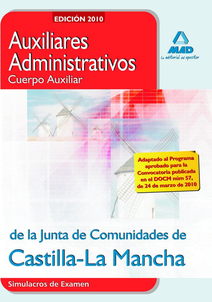 Auxiliares administrativos, junta de comunidades de castilla