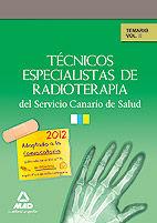 Tecnicos especialistas de radioterapia del servicio canario