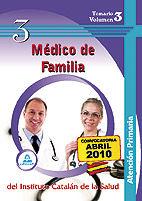 Medico de familia de atencion primaria del instituto catalan