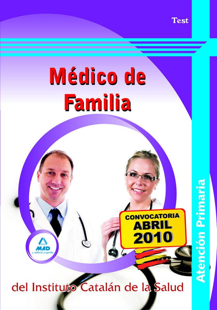 Medico de familia de atencion primaria, instituto catalan de