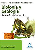 Cuerpo de profesores de enseñanza secundaria, biologia y geo