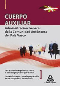 Cuerpo auxiliar de la administracion general, comunidad auto