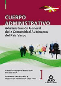 Cuerpo administrativo de la administracion general, comunida