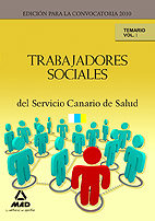 Trabajadores sociales del servicio canario de salud. temario