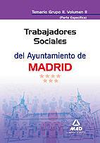 Trabajadores sociales del ayuntamiento de madrid. temario gr