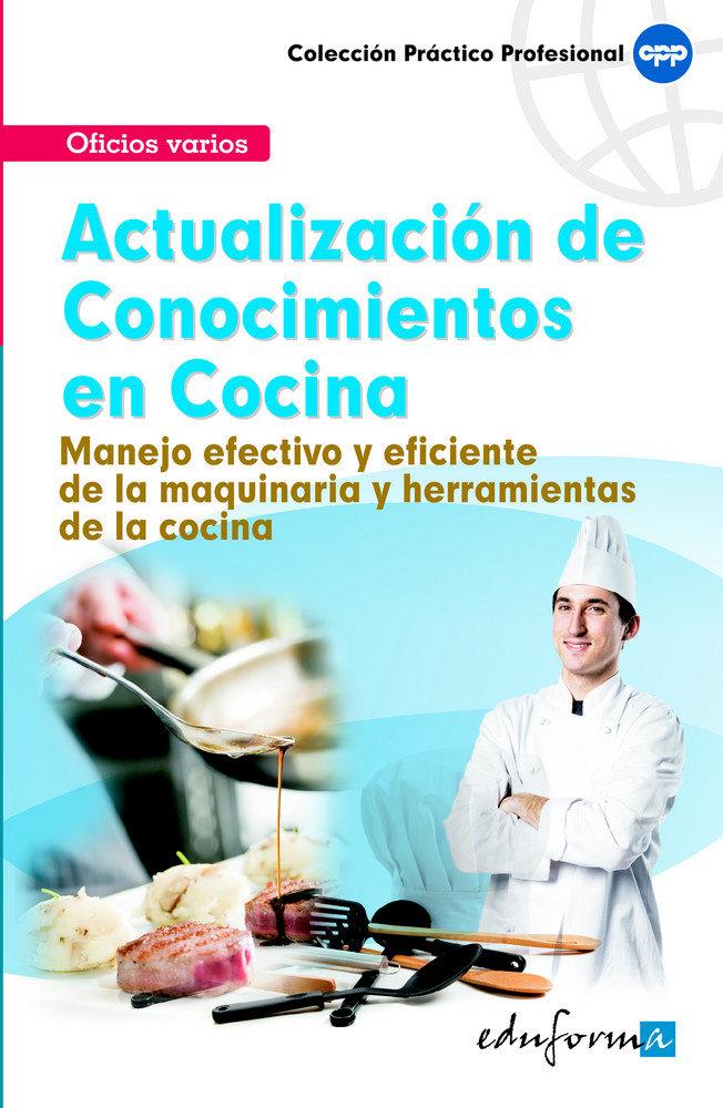 Actualizacion de conocimientos en cocina