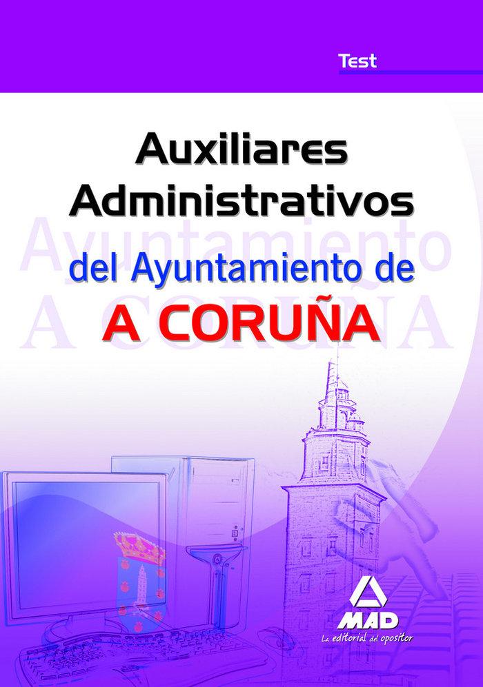 Auxiliares administrativos, ayuntamiento de a coruña. test