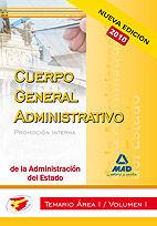 Cuerpo administrativo de la administracion del estado (promo