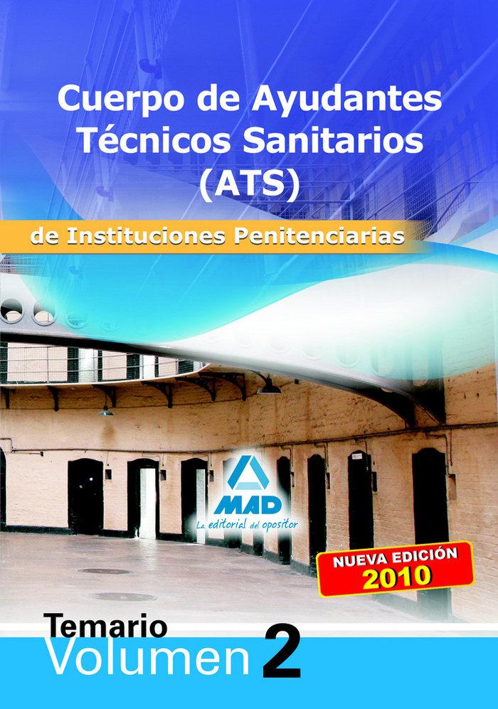 Cuerpo ats instituciones penitenciarias temario ii 2010