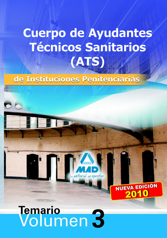 Cuerpo ats instituciones penitenciarias temario iii 2010