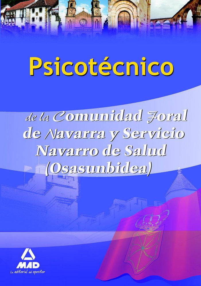 Psicotecnico, comunidad foral de navarra y servicio navarro