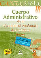 Cuerpo administrativo de la comunidad autonoma de cantabria.
